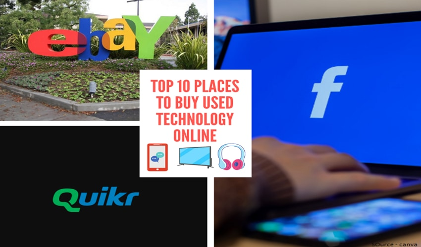 Top 10 Places to Buy Used Technology Online