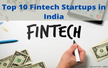 Top 10 Fintech Startups