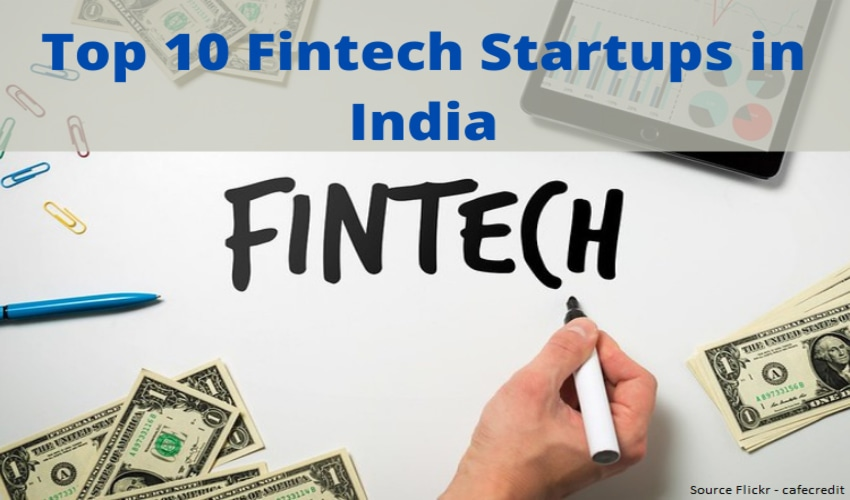 Top 10 Fintech Startups in India