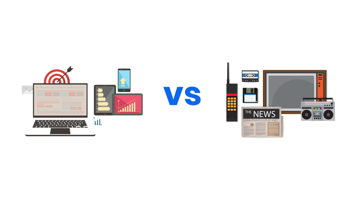 How to combine digital and traditional marketing